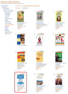 Amazon Ranking - Motivate Your Son