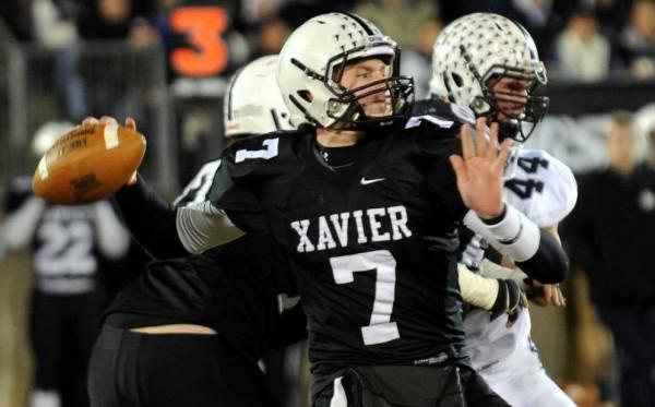 One of many Xavier High School Football Student-Athletes